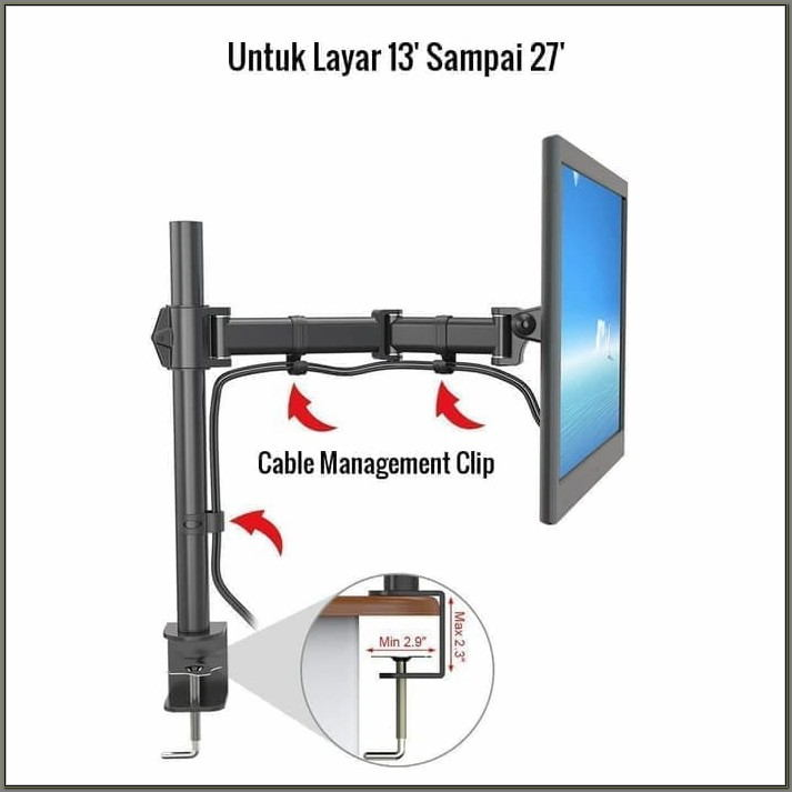 Lcd Monitor Arm Desk Mount