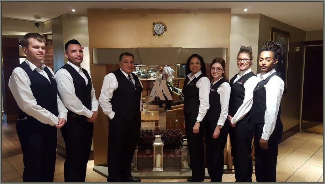 Marriott Hotel Front Desk Uniforms