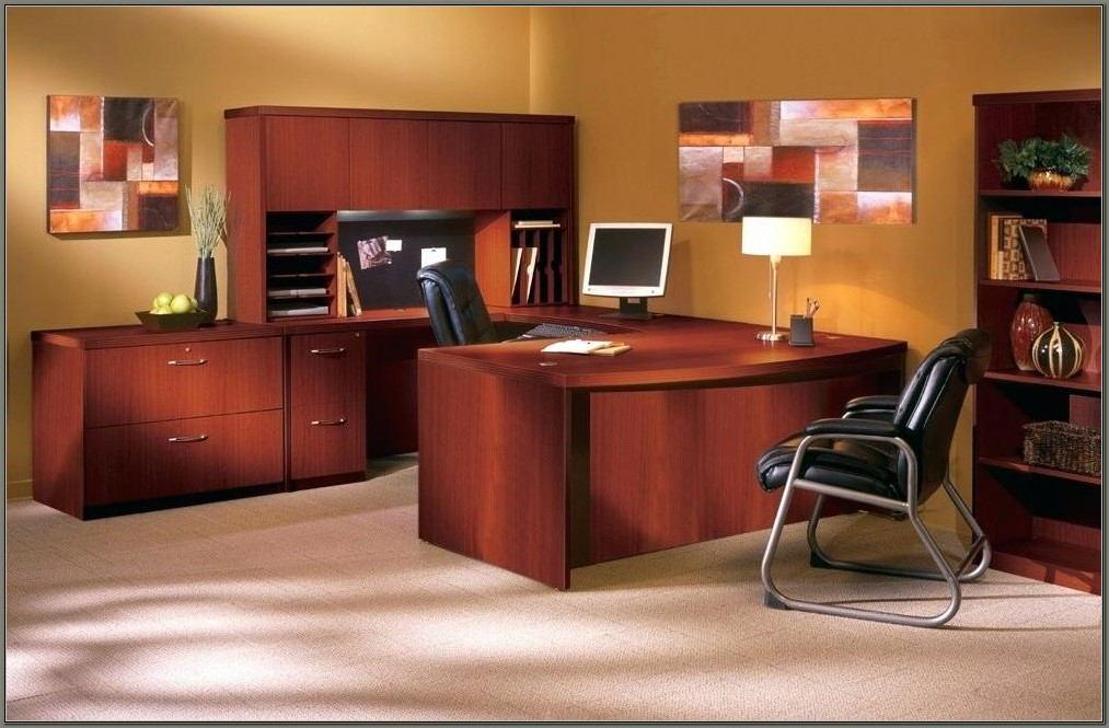 Merritt U Shape Desk With Hutch