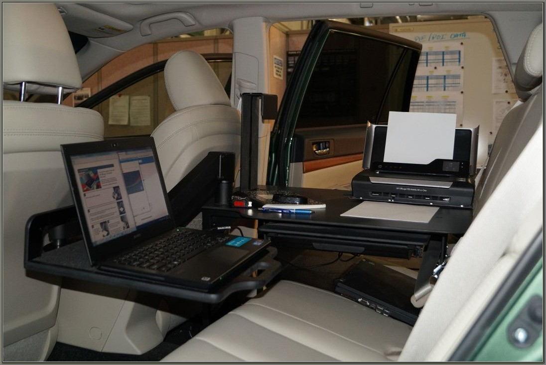 Mobile Office Car Desk Workstations