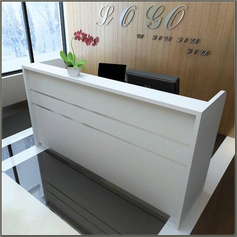 Modern Salon Reception Desk
