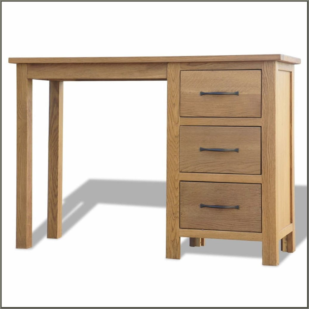 Modern Wooden Desk With Drawers