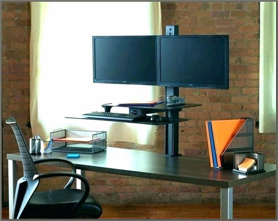 Multi Monitor Computer Desk