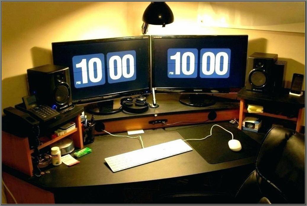 Multi Monitor Computer Desks