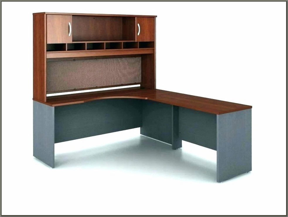 Narrow Computer Desk With Hutch