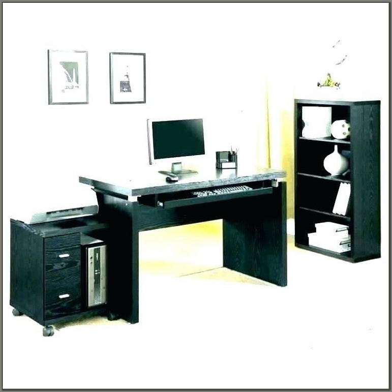 Office Depot Computer Desk With Keyboard Tray