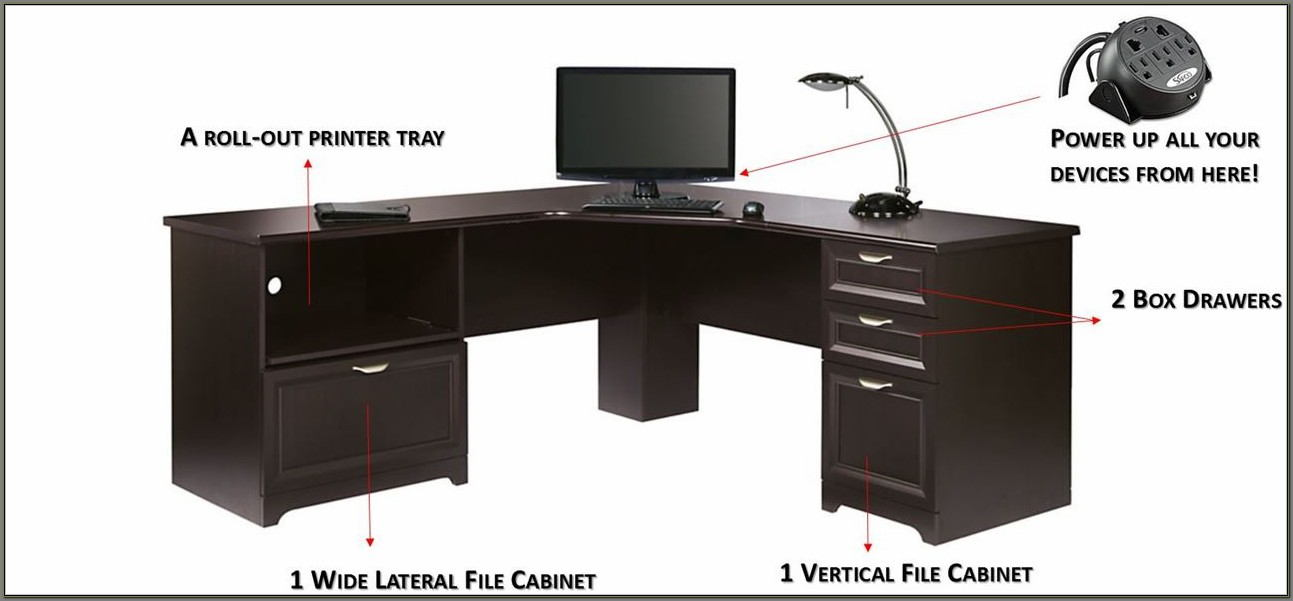 Office Depot L Shaped Desk Magellan