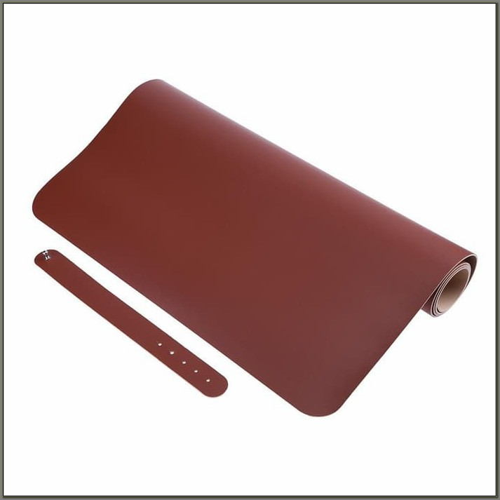 Office Desk Leather Writing Pad