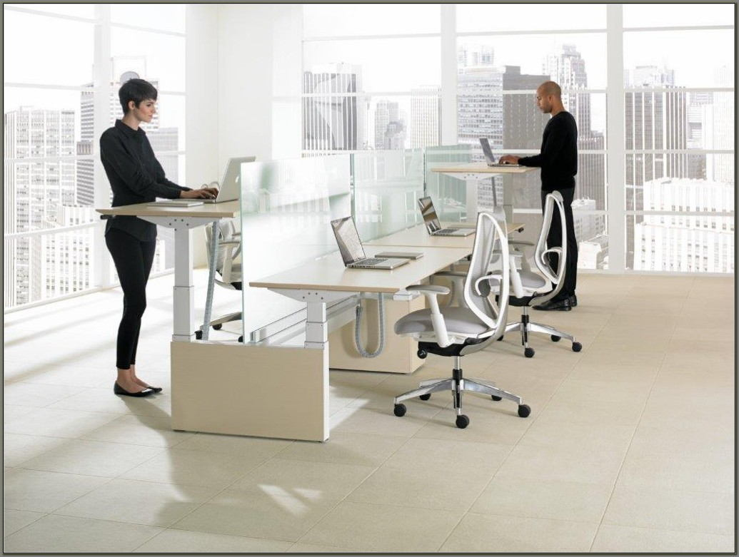 Office Furniture Adjustable Height Desk