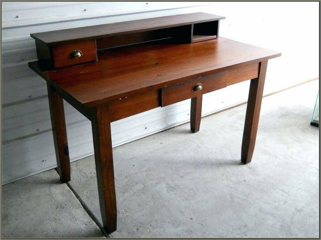 Old Fashioned Student Desk