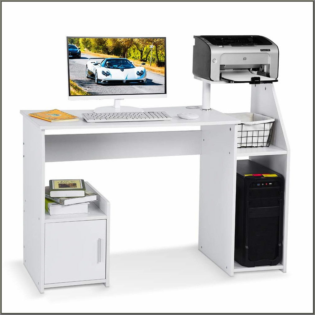 Printer Shelf For Desk