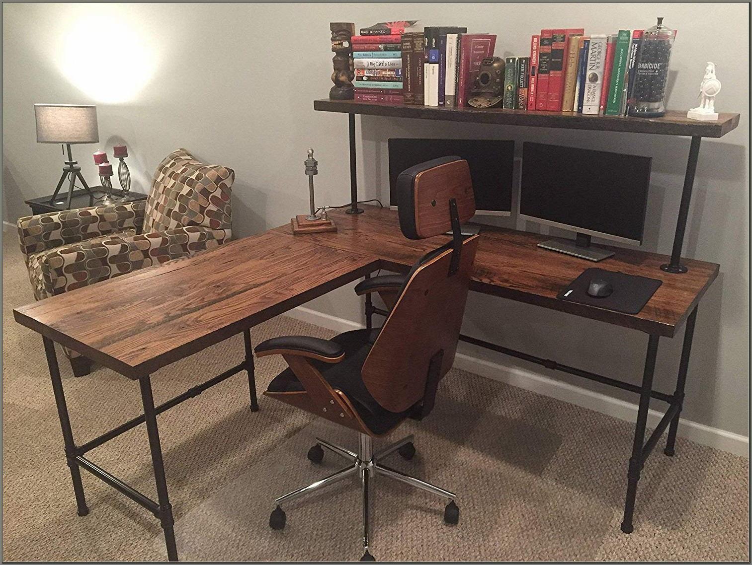 Reclaimed Barn Wood Desk