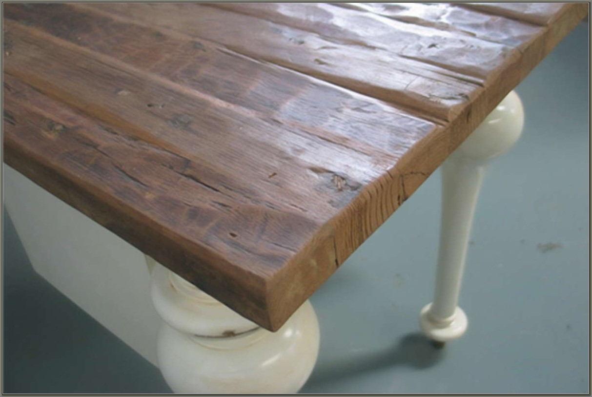 Reclaimed Wood Desk Top