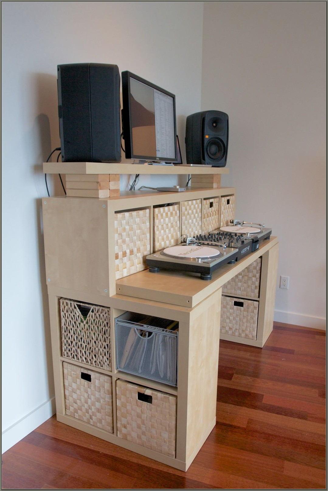 Recording Studio Desk Ikea Hack