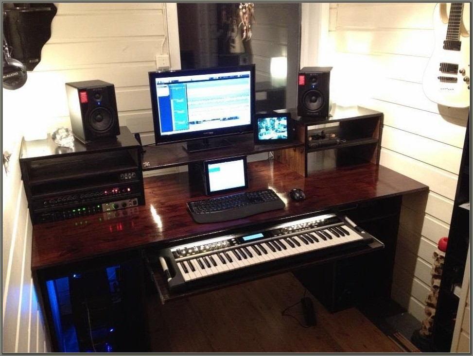 Recording Studio Workstation Desk