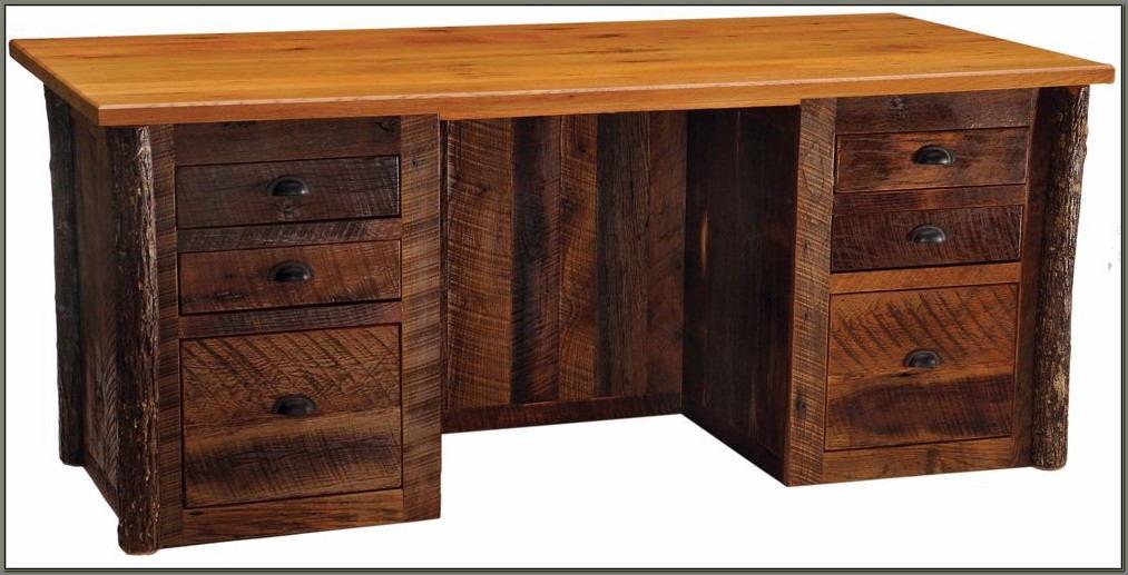 Rustic Office Furniture Desks