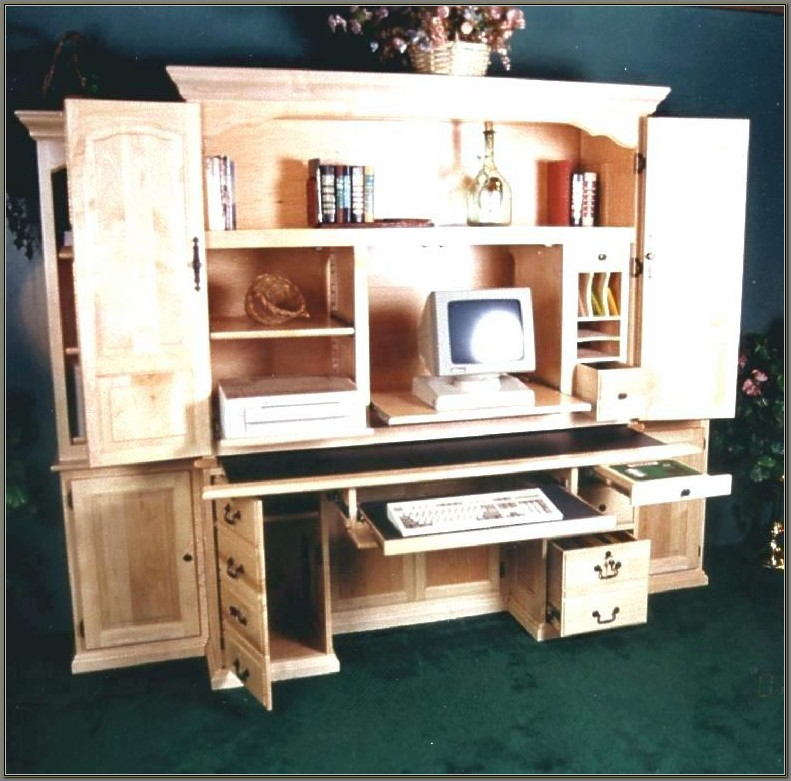 Sauder Antique White Desk