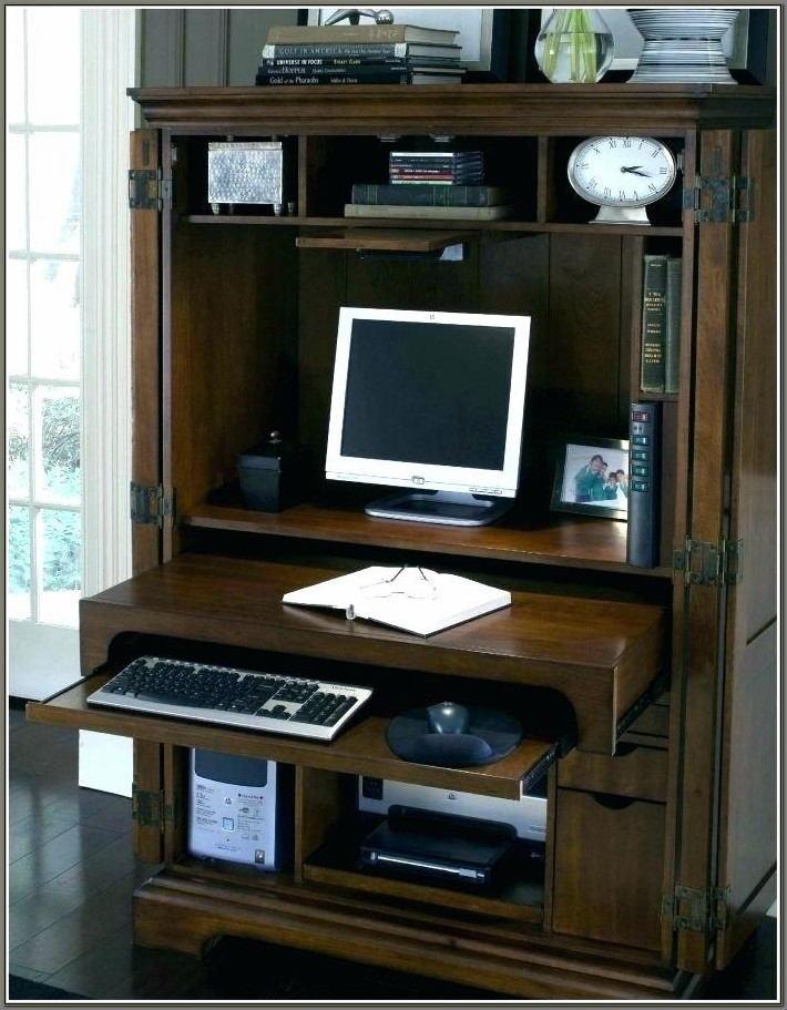 Sauder Armoire Computer Desk