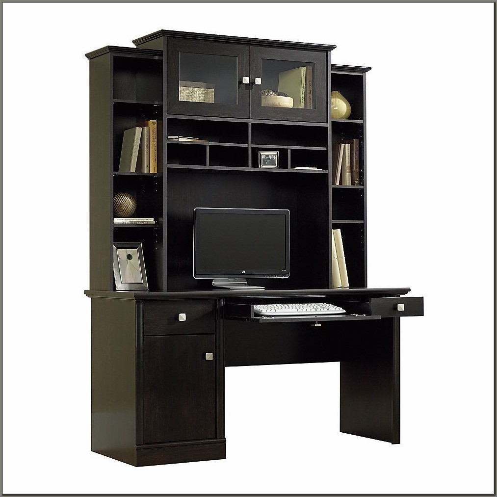 Sauder Computer Desk And Hutch