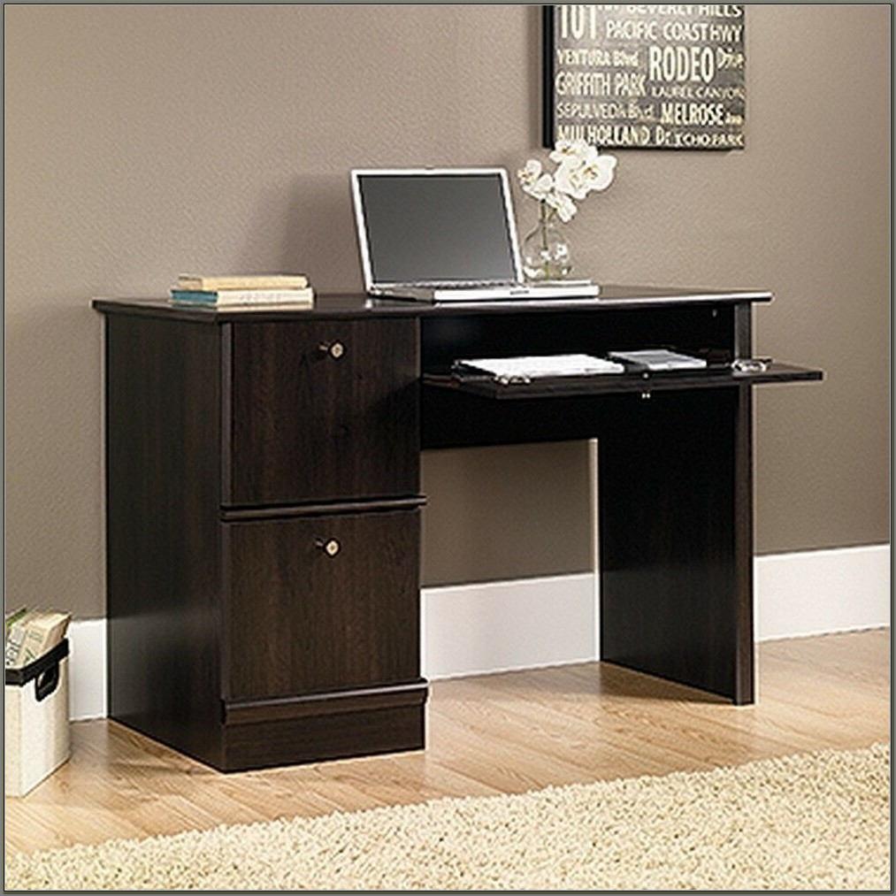 Sauder Computer Desk Cinnamon Cherry