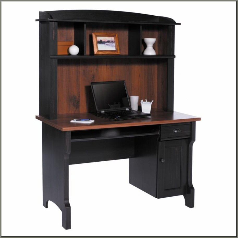 Sauder Conrad Computer Desk And Hutch