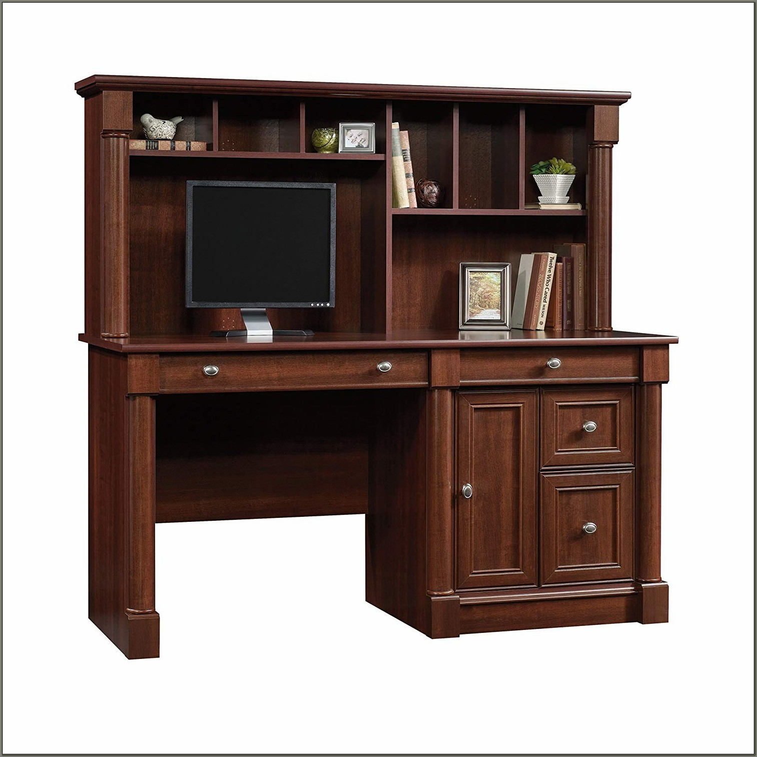Sauder Desk And Hutch