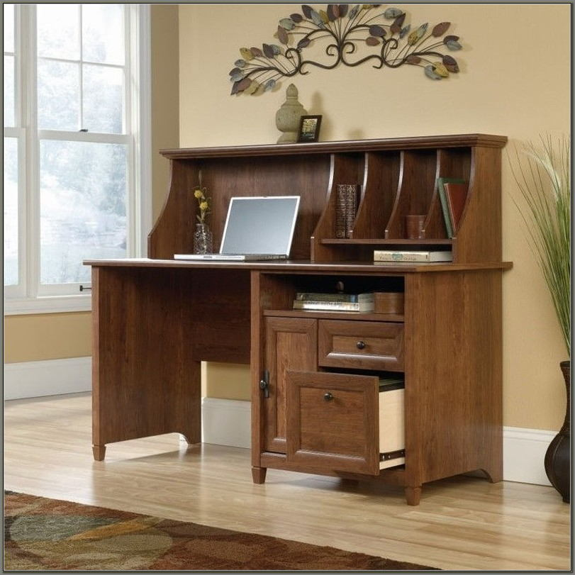 Sauder Edge Water Computer Desk Cherry