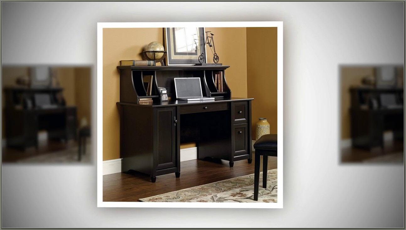 Sauder Edge Water Computer Desk Estate Black