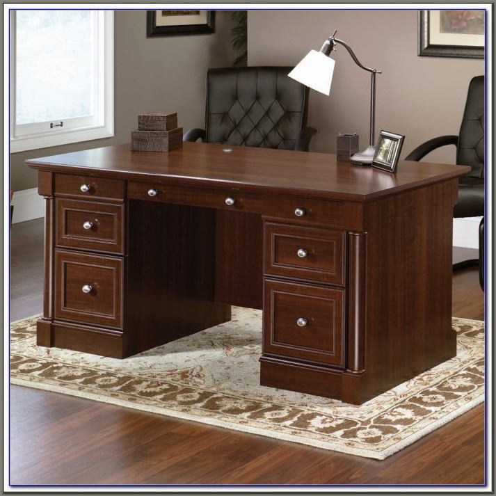 Sauder Edgewater Executive Desk Assembly Instructions