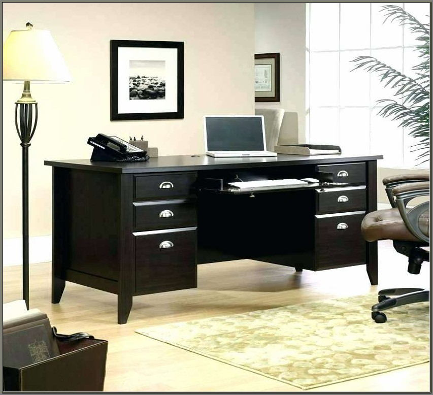 Sauder Edgewater Executive Desk