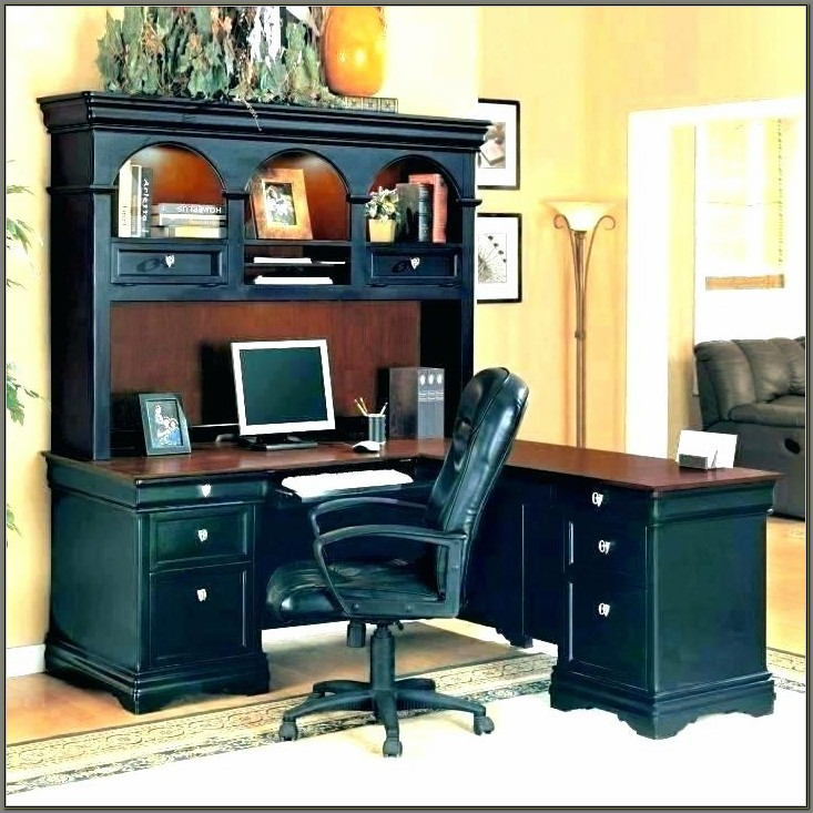 Sauder Harbor View Computer Desk Whutch