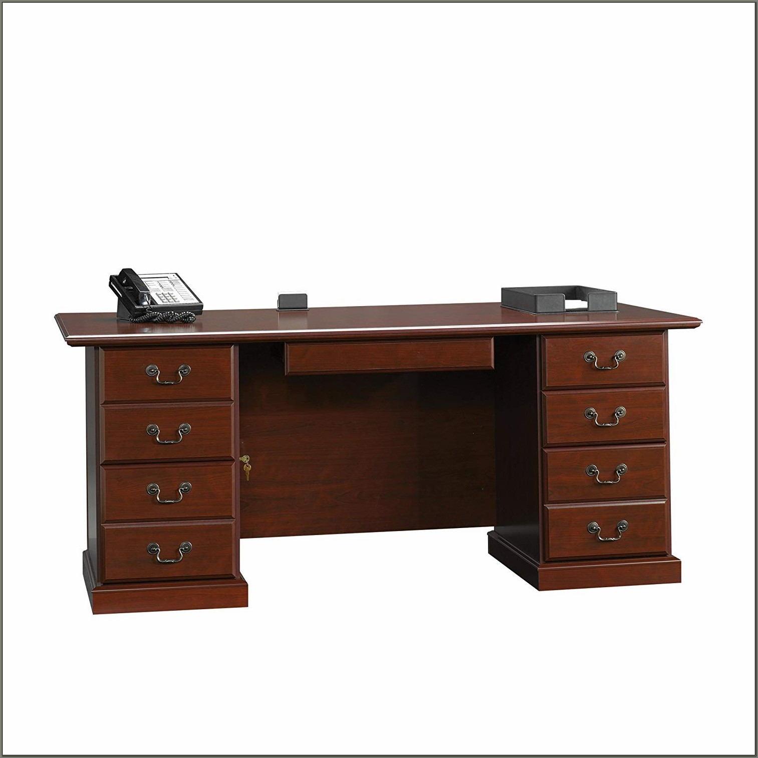 Sauder Heritage Hill Desk Classic Cherry