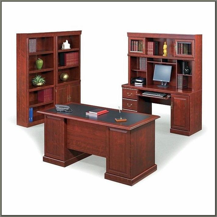 Sauder Heritage Hill Double Pedestal Desk