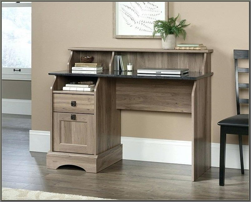Sauder L Shaped Desk White