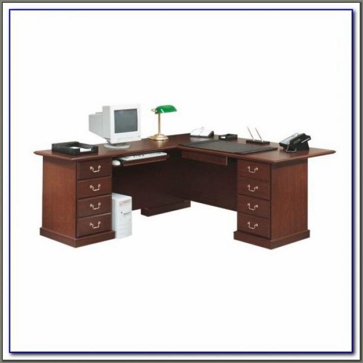 Sauder Lake Point L Desk