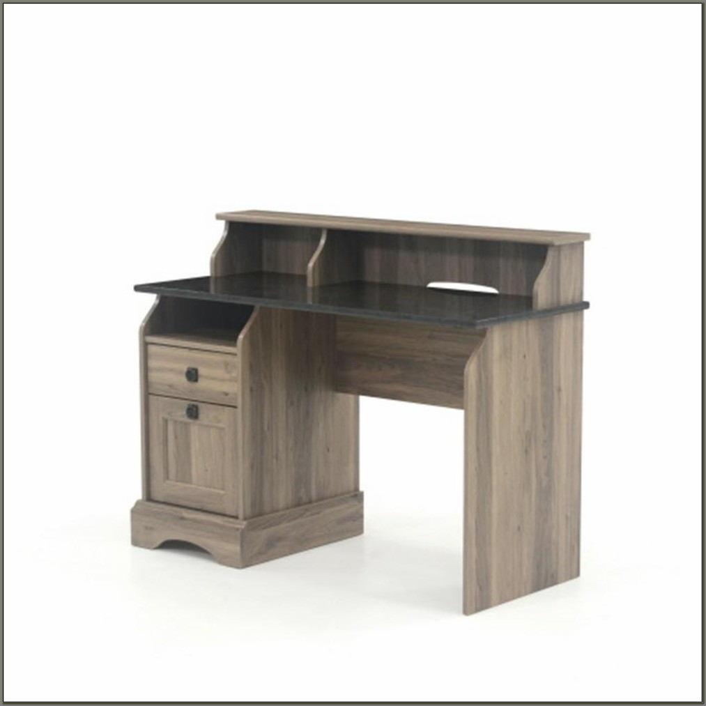 Sauder Salt Oak Desk