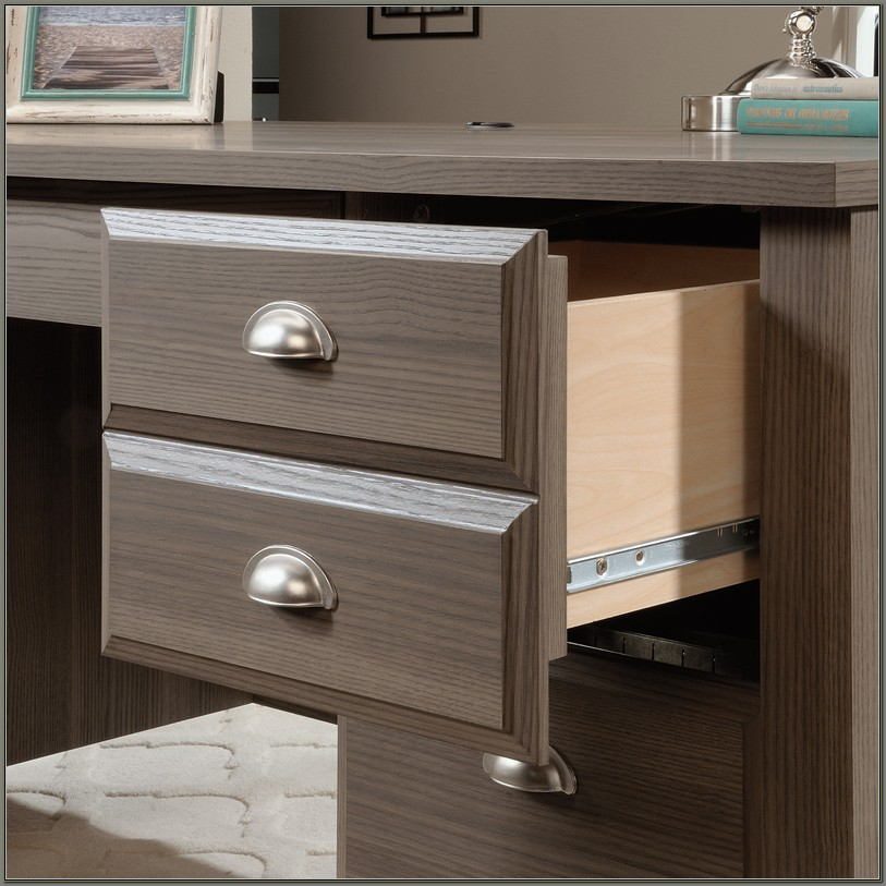 Sauder Shoal Creek Desk Diamond Ash