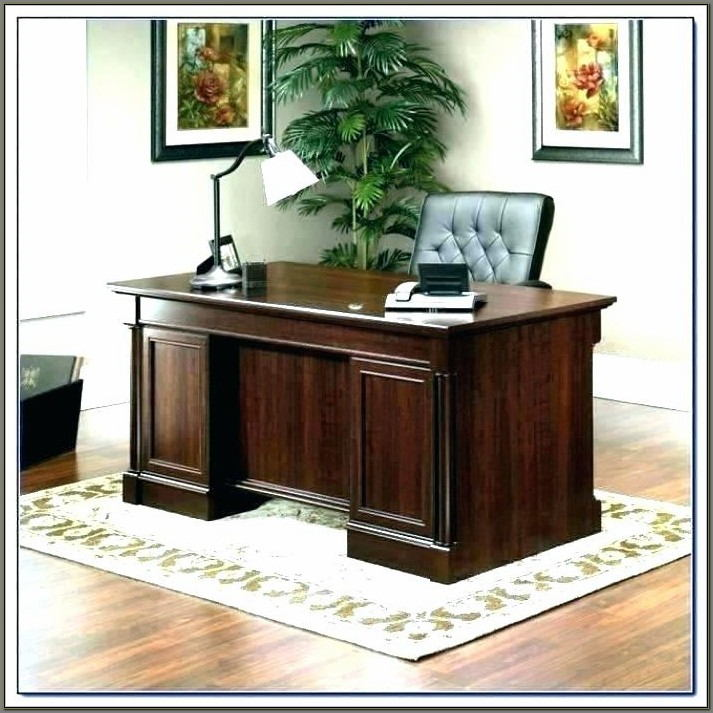 Sauder Shoal Creek Executive Desk Assembly Instructions