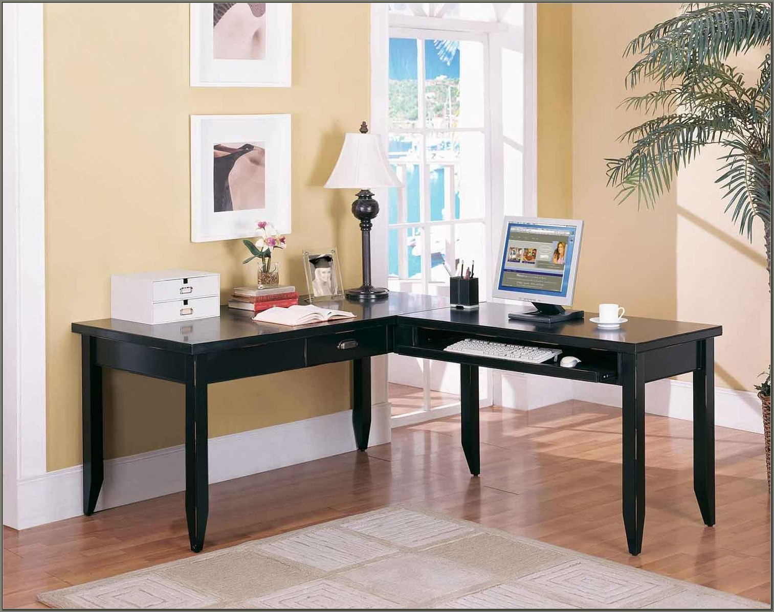Sauder Traditional L Shaped Desk