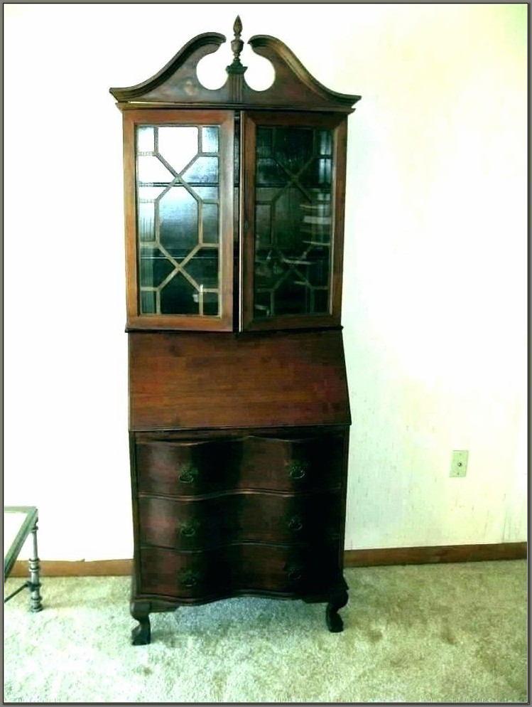 Secretary Desk With Hutch Antique