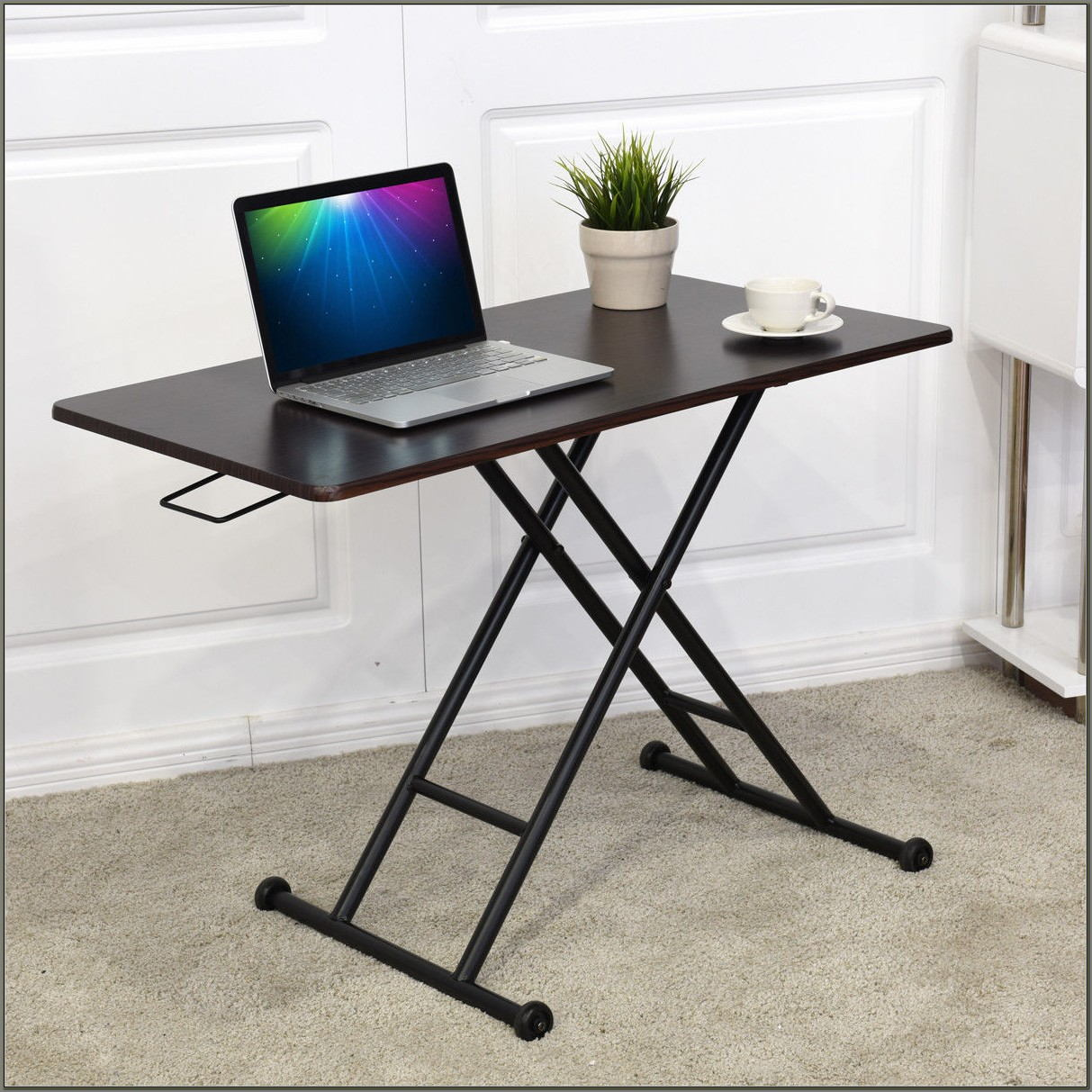 Sit Stand Desk Converter Laptop