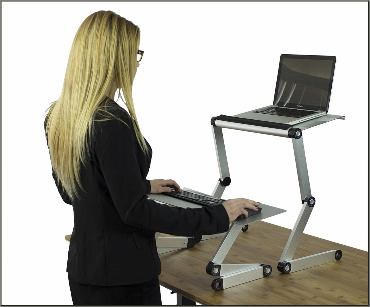 Sitting To Standing Desk Conversion