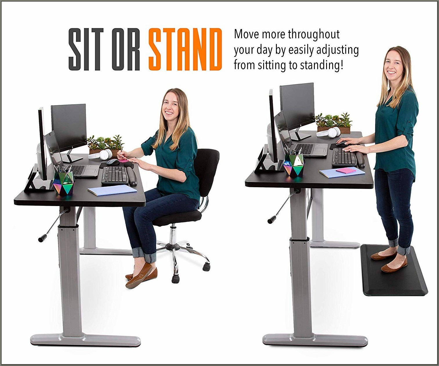 Sitting To Standing Desk