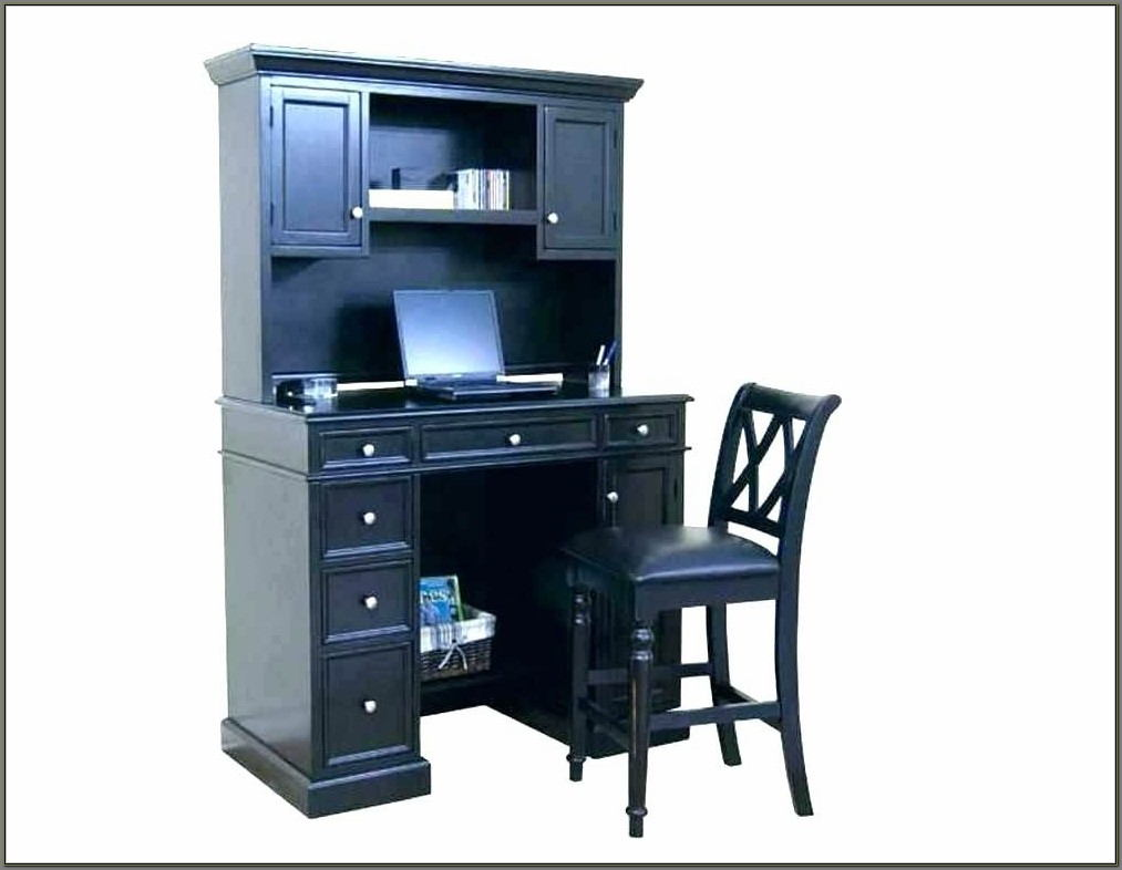 Small Corner Desk With Hutch And Drawers