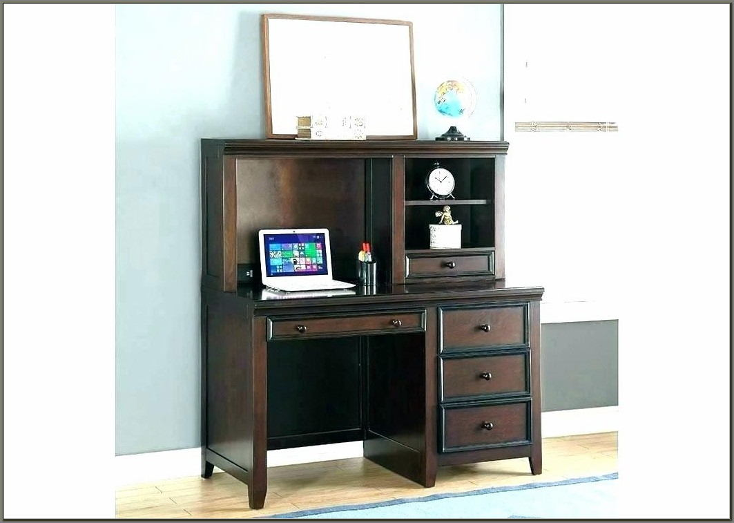 Small Office Desk With Hutch