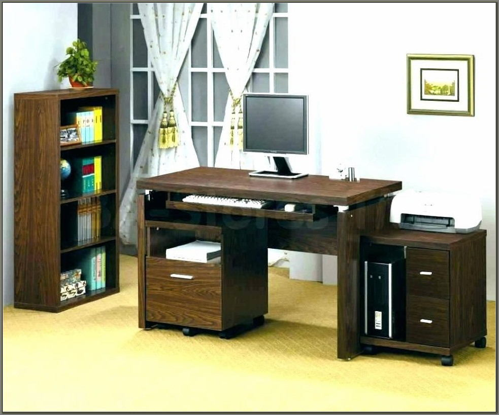 Small Space Small Desk With Hutch