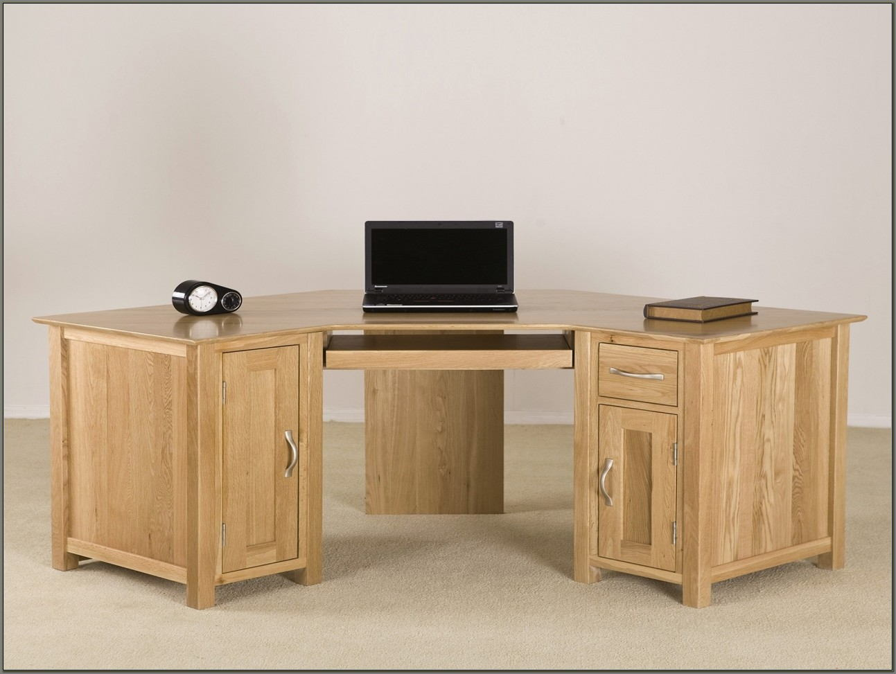 Solid Oak Corner Desk Uk