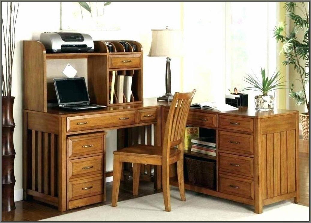 Solid Wood Corner Computer Desks For Home