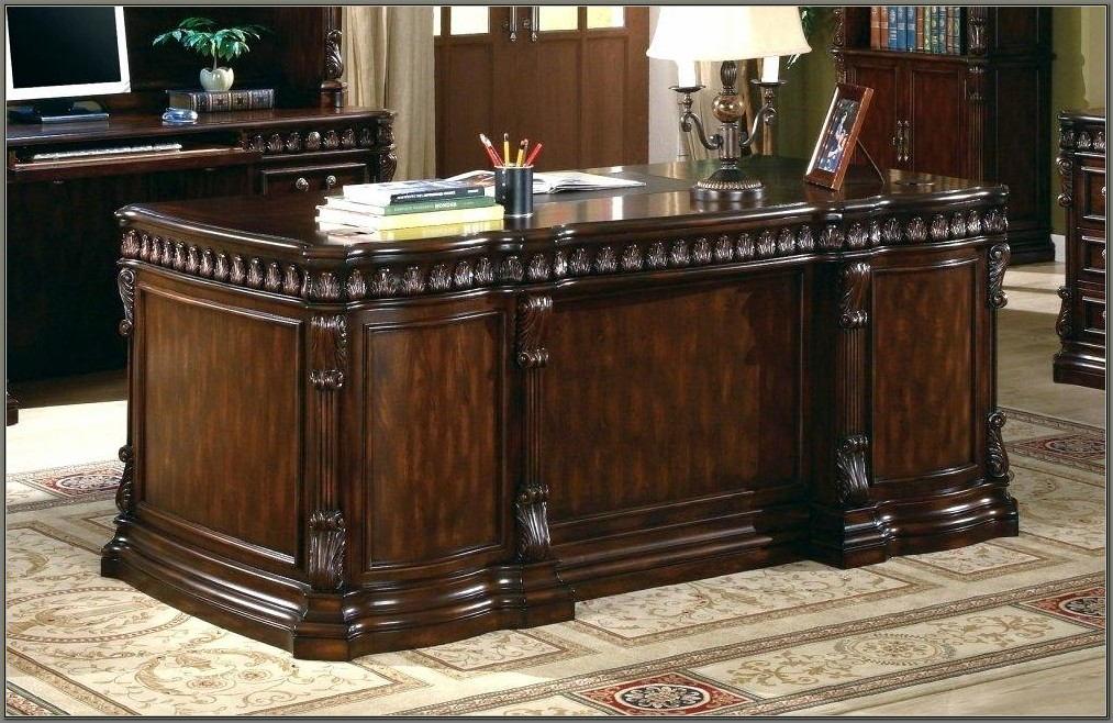 Solid Wood Executive Desk Canada