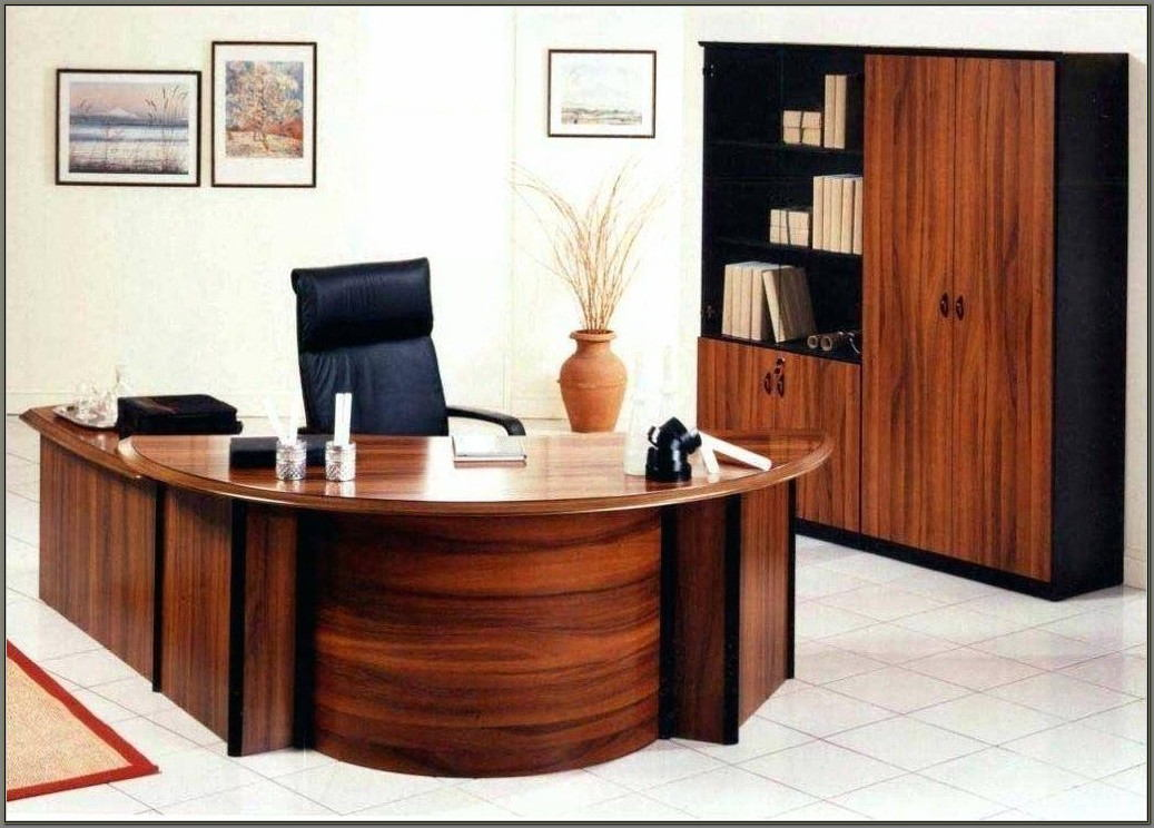 Solid Wood Executive Desks Home Office